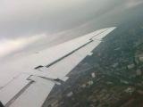Взлет в аэропорту Одесса, самолет Embraer ERJ 145. (2 минута 07 секунд, убирается механизация крыла))